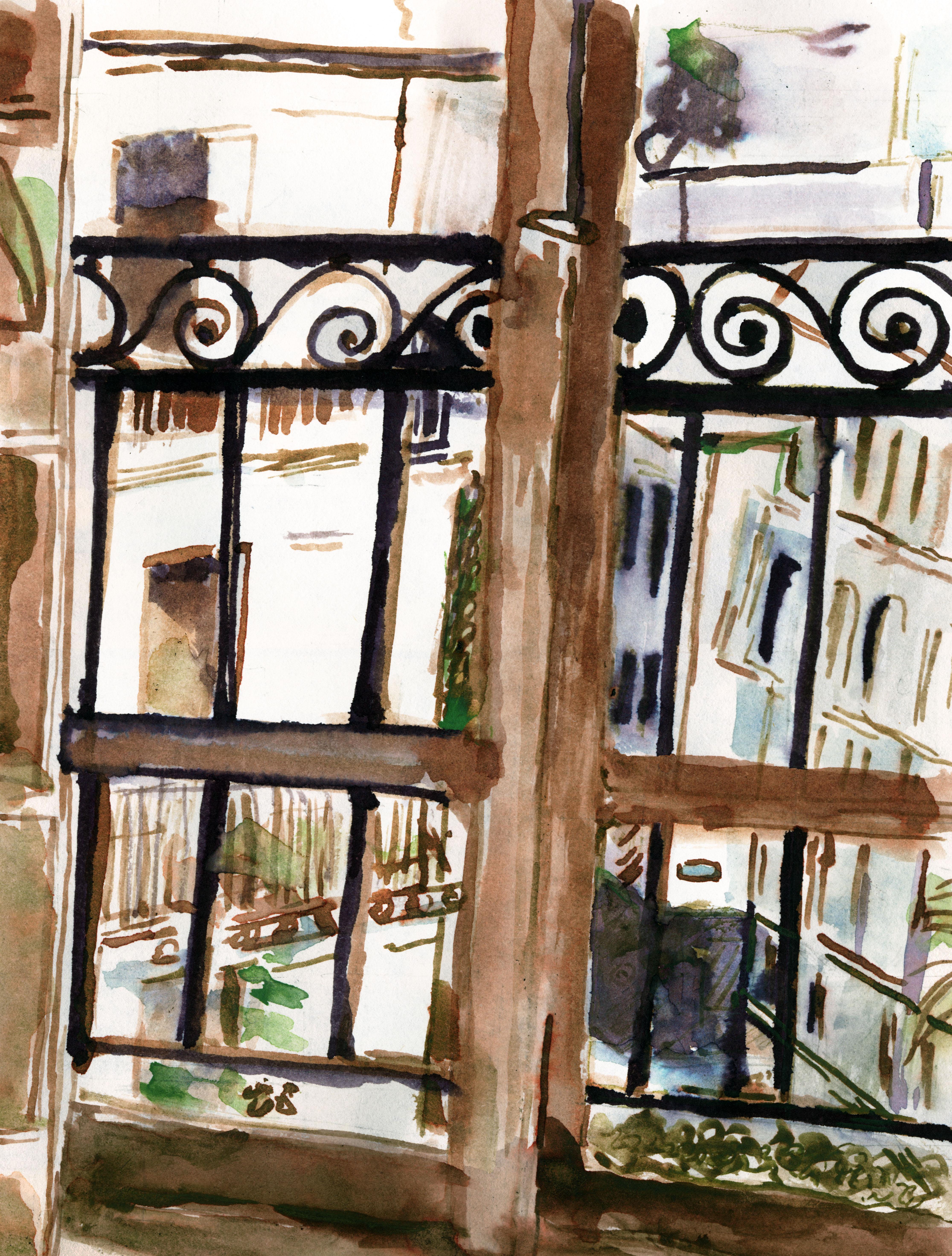 247 Porta-finestra sul balcone 2017