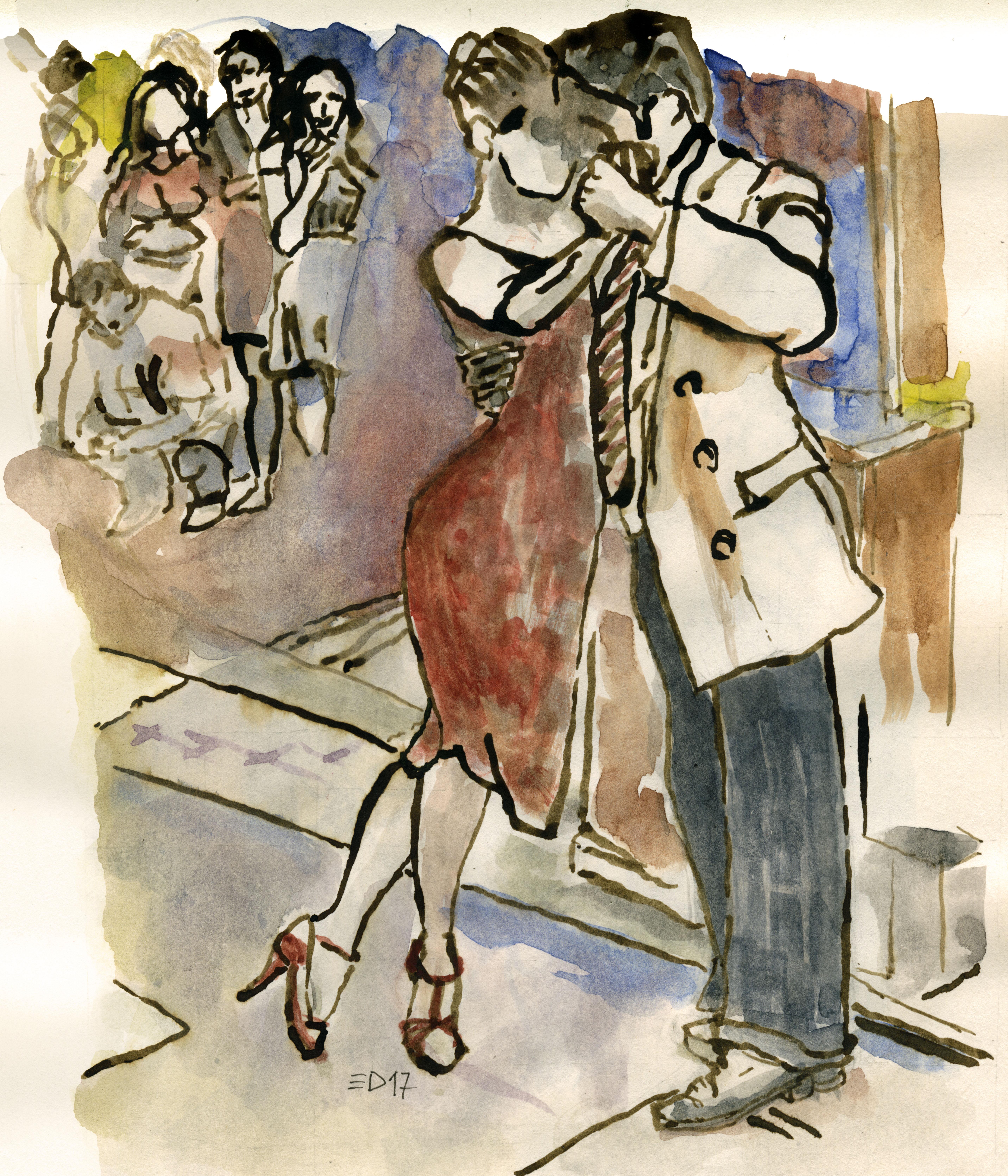266 Esibizione di tango 2017